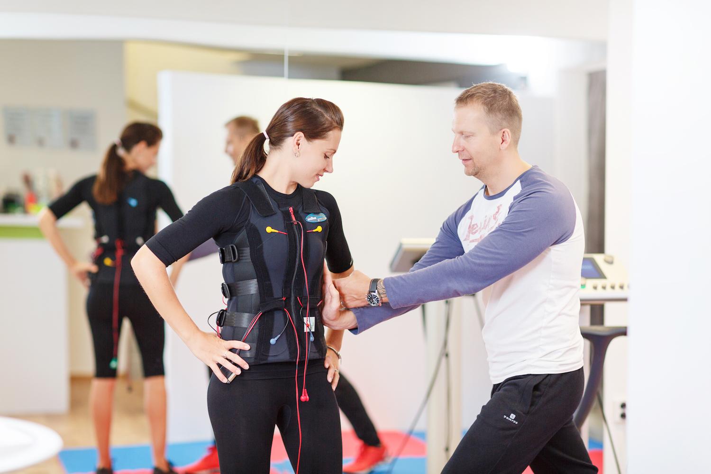EMS – cvičení pro začátečníky i profíky