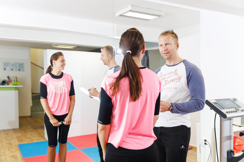 Během úvodního tréninku vám naši trenéři vše vysvětlí