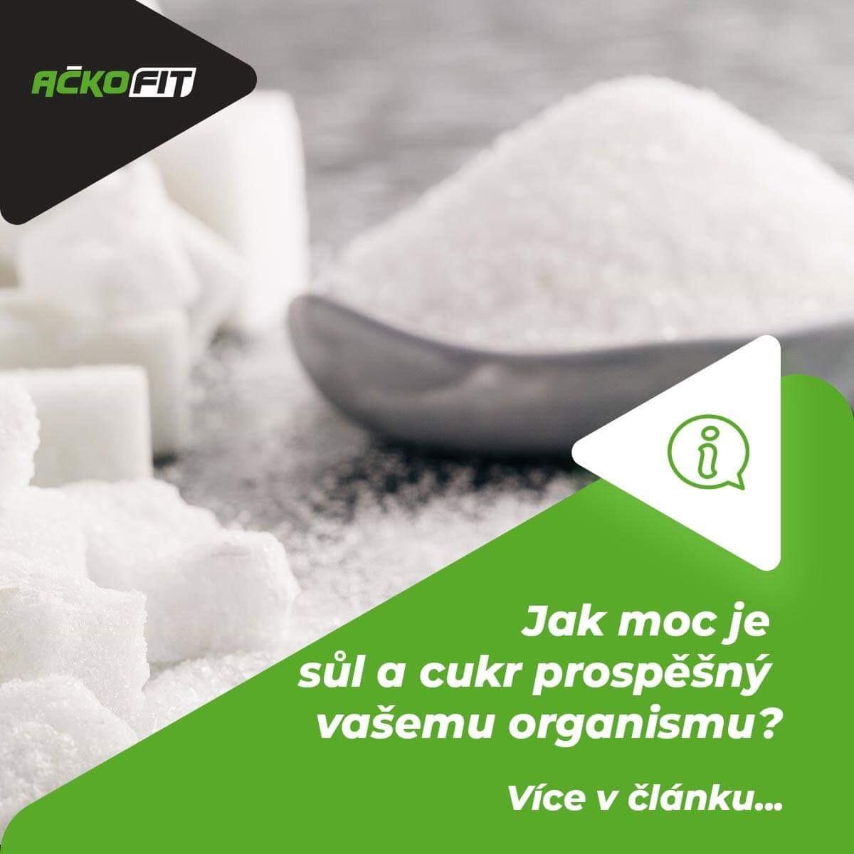 Sůl a cukr: bíle jedy?